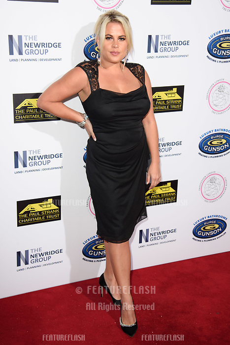 LONDON, UK. September 22, 2018: Nadia Essex at the Paul Strank Charitable Trust Annual Gala at the Bank of England Club, London.<br /> Picture: Steve Vas/Featureflash