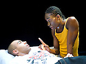 Wig Out by Tarell Alvin McCraney,directed by Dominic Cooke.With Nathan Stewart-Jarrett,Alex Lanipekun.Opens at Jerwood Theatre Downstairs at The Royal Court Theatre on 27/11/08. CREDIT Geraint Lewis