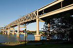 The Marquam Bridge over the Willamette River, Portland, Oregon
