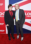 HOLLYWOOD, CA - MARCH 01: Producer Alan Siegel (L) and fashion designer David Meister attend the premiere of Focus Features' 'London Has Fallen' held at ArcLight Cinemas Cinerama Dome on March 1, 2016 in Hollywood, California.