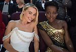 04.03.2018; Hollywood, USA: MARGOT ROBBIE AND LUPITA NYONG'O<br /> at the 90th Annual Academy Awards held at the Dolby&reg; Theatre in Hollywood.<br /> Mandatory Photo Credit: AMPAS/Newspix International<br /> <br /> IMMEDIATE CONFIRMATION OF USAGE REQUIRED:<br /> Newspix International, 31 Chinnery Hill, Bishop's Stortford, ENGLAND CM23 3PS<br /> Tel:+441279 324672  ; Fax: +441279656877<br /> Mobile:  07775681153<br /> e-mail: info@newspixinternational.co.uk<br /> Usage Implies Acceptance of Our Terms &amp; Conditions<br /> Please refer to usage terms. All Fees Payable To Newspix International