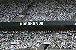 Gladbacher Fanbanner in der Nordkurve gegen Geisterspiele Nordkurve<br /><br />27.06.2020, Fussball, 1. Bundesliga, Saison 2019/2020, 34. Spieltag, Borussia Moenchengladbach - Hertha BSC Berlin,<br /><br />Foto: Johannes Kruck/POOL / via / Meuter/Nordphoto<br />Only for Editorial use