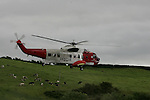 JSAR.Joint Search Area Rescue, IRCG and HMCG Colerane 2007..Photo: Newsfile/Fran Caffrey....