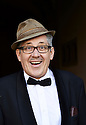 Count Arthur Strong , comedian, comic  and writer at Oxford Literary Festival  at Christchurch College, Oxford  2014 CREDIT Geraint Lewis