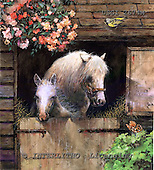 GIORDANO, REALISTIC ANIMALS, REALISTISCHE TIERE, ANIMALES REALISTICOS, paintings+++++,USGI2674M,#A# horses,