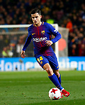 25th September 2018, Camp Nou, Barcelona, Spain; Copa del Rey football, quarter final, second leg, Barcelona versus Espanyol; Coutinho debuts