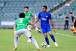 Kitchee Forward Fernando Azevedo Pedreira (R) in action during the Hong Kong FA Cup final between Kitchee and Wofoo Tai Po at the Hong Kong Stadium on May 26, 2018 in Hong Kong, Hong Kong. Photo by Marcio Rodrigo Machado / Power Sport Images