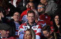 4th January 2020; Kingsholm Stadium, Gloucester, Gloucestershire, England; English Premiership Rugby, Gloucester versus Bath; Gloucester fans anticipate kick off - Editorial Use