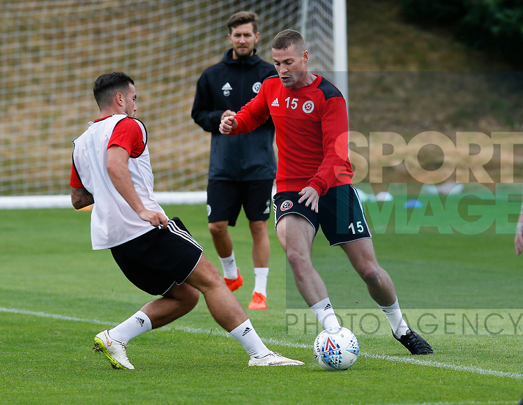 Paul Coutts during the training session at the Shirecliffe Training complex, Sheffield. Picture date: June 27th 2017. Pic credit should read: Simon Bellis/Sportimage