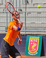 Austria, Kitzbuhel, Juli 14, 2015, Tennis, Davis Cup, Training Dutch team, Thiemo de Bakker<br /> Photo: Tennisimages/Henk Koster