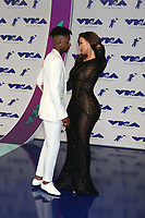 LOS ANGELES - AUG 27:  21 Savage, Amber Rose at the MTV Video Music Awards 2017 at The Forum on August 27, 2017 in Inglewood, CA