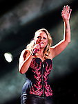 Miranda Lambert performs at LP Field during Day 1 of the 2013 CMA Music Festival in Nashville, Tennessee.