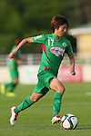 Rin Sumida (Beleza), <br /> JULY 12, 2015 - Football / Soccer : <br /> 2015 Plenus Nadeshiko League Division 1 <br /> between NTV Beleza 1-0 AS Elfen Saitama <br /> at Hitachinaka Stadium, Ibaraki, Japan. <br /> (Photo by YUTAKA/AFLO SPORT)