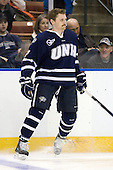 Paul Thompson (UNH - 17) - The University of Notre Dame Fighting Irish defeated the University of New Hampshire Wildcats 2-1 in the NCAA Northeast Regional Final on Sunday, March 27, 2011, at Verizon Wireless Arena in Manchester, New Hampshire.