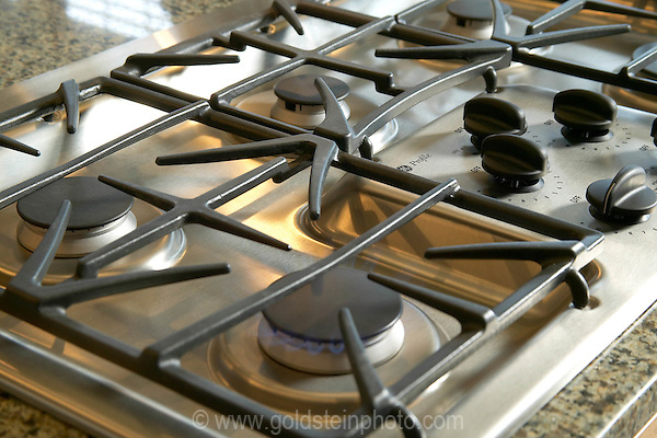 Gas cook top detail