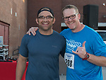 Johnno Lazetich and Steve Hatcher during the 49th Annual Journal Jog in Reno, Nevada on Sunday, September 10, 2017.