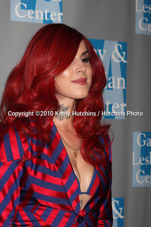Kat Von D.arrives at An Evening with Women - LA Gay & Lesbian Center's Gala.Beverly Hilton Hotel.Beverly Hills, CA.May 1, 2010.©2010 Kathy Hutchins / Hutchins Photo...