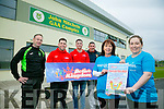 Launching the family fun day at John Mitchells GAA on Sunday 15th of May from 2-6, in aid of Make A Wish Foundation. Front l-r  Deirdre O'Brien and Debbie Moriarty. Back l-r  Ger Dennehy, JT Deenihan, John Maher and Paudie O'Shea of Active Kingdom