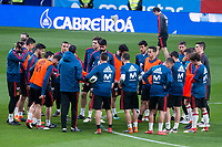 Spain press conference & Training session