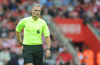 Referee Graham Scott<br /> <br /> Photographer Kevin Barnes/CameraSport<br /> <br /> The Premier League - Southampton v Burnley - Sunday August 12th 2018 - St Mary's Stadium - Southampton<br /> <br /> World Copyright &copy; 2018 CameraSport. All rights reserved. 43 Linden Ave. Countesthorpe. Leicester. England. LE8 5PG - Tel: +44 (0) 116 277 4147 - admin@camerasport.com - www.camerasport.com