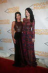 Actress Jessica Szohr and Model Jessica Stam Attend the Second Annual Pencils of Promise Gala Held at Guastavino's, NY  10/25/12