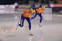 SCHAATSEN: CALGARY: Olympic Oval, 10-11-2013, Essent ISU World Cup, 5000m, Jan Blokhuijsen (NED),  ©foto Martin de Jong