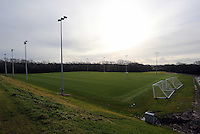 Pictured: One of the grass pitches. Tuesday 14 January 2013<br />