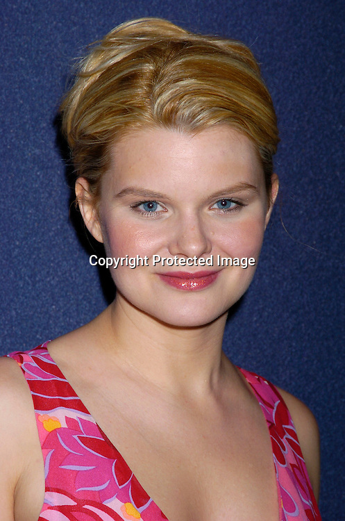 Heather Tom in Jill Stuart dress..at Marcia Tovsky's Pre Emmy party at Quo on May 19, 2004. ..Photo by Robin Platzer, Twin Images