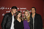Kelley Missal & boyfriend Tyler Schamikow & Lenny Platt & girlfriend Naomi Piercey at My Big Gay Italian Wedding on March 18, 2011 (also 3-17- & 3-20) at St. Luke's Theatre, New York City, New York. (Photo by Sue Coflin/Max Photos)