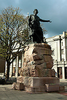 William Wallace Statue outside His Majesty's Theatre, Aberdeen