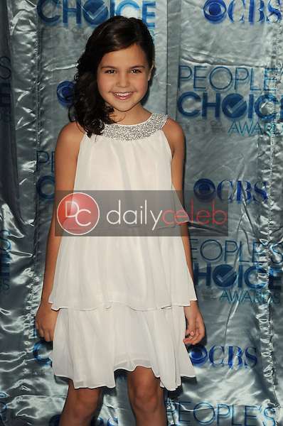 Bailee Madison<br /> at the 2011 People's Choice Awards - Arrivals, Nokia Theatre, Los Angeles, CA. 01-05-11<br /> David Edwards/DailyCeleb.com 818-249-4998