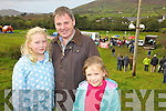 A Family day out at the Cahersiveen Race on Sunday pictured here Liam O'Connor with his daughters Jessica & Isabel.