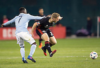 Washington, D.C. - Saturday, March 4, 2017: D.C. United and Sporting Kansas City played to a 0-0 tie during an MLS match at RFK Stadium.