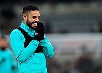 Blackburn Rovers' Derrick Williams reacts during the warm up<br /> <br /> Photographer Alex Dodd/CameraSport<br /> <br /> Emirates FA Cup Third Round - Newcastle United v Blackburn Rovers - Saturday 5th January 2019 - St James' Park - Newcastle<br />  <br /> World Copyright &copy; 2019 CameraSport. All rights reserved. 43 Linden Ave. Countesthorpe. Leicester. England. LE8 5PG - Tel: +44 (0) 116 277 4147 - admin@camerasport.com - www.camerasport.com