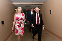 United States Senator Jim Risch (Republican of Idaho) makes his way to the Senate Floor on Capitol Hill in Washington D.C., U.S. on July 31, 2019. Photo Credit: Stefani Reynolds/CNP/AdMedia