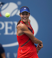Ana Ivanovic<br /> Tennis - US Open  - Grand Slam -  Flushing Meadows  2013 -  New York - USA - United States of America - Saturday 31st August 2013. <br /> &copy; AMN Images, 8 Cedar Court, Somerset Road, London, SW19 5HU<br /> Tel - +44 7843383012<br /> mfrey@advantagemedianet.com<br /> www.amnimages.photoshelter.com<br /> www.advantagemedianet.com<br /> www.tennishead.net