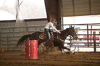 Ranch Rodeo - 4.5.2014 - Barrel Racing