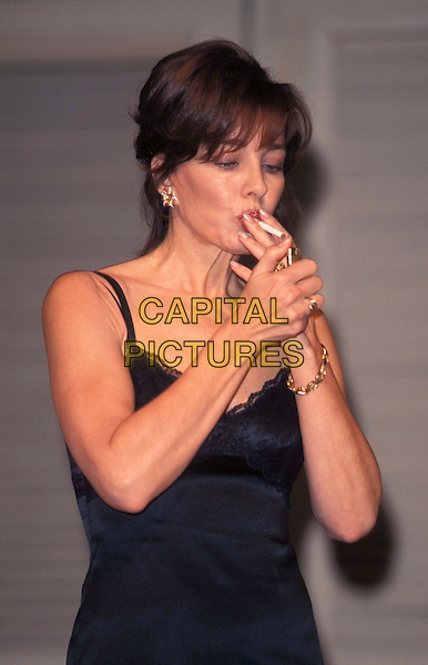 ANNE ARCHER.Mrs Robinson, smoking, cigarette, stage, theatre, play .Ref: 10915.www.capitalpictures.com.sales@capitalpictures.com.© Capital Pictures