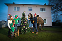 18/12/16<br /> <br /> L/R: Charlotte Anderson-Dixon, 34, Reuben Anderson-Dixon, 6, Sol Anderson-Dixon, 2, and Nathan Anderson-Dixon, 38.<br /> <br /> <br /> It&rsquo;s a festive tradition that will be carried out in millions of homes this Christmas - the annual family photo, often including a much-loved cat or dog - but when one of your pets is a 9ft camel weighing more than 2,000lbs it&rsquo;s a challenge to capture the perfect picture!<br /> <br /> But for this family living Pasturefields, Staffordshire, their camel, Joe is an old-hand at posing for the camera, after all he has taken centre-stage in many films and TV adverts.<br /> <br /> And Nathan Anderson-Dixon, who owns The Animal Company, said the double-humped ungulate behaved impeccably, even managing to place his own bauble in the Christmas tree branches.<br /> <br /> <br /> All Rights Reserved F Stop Press Ltd. (0)1773 550665   www.fstoppress.com