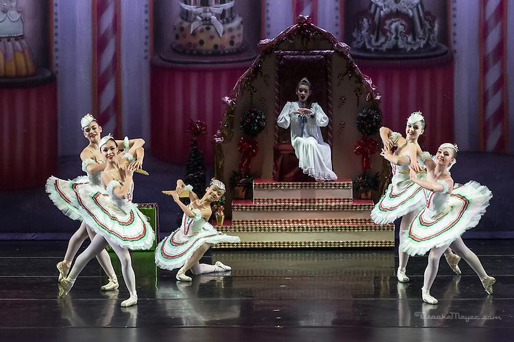 "Cary Ballet Company, ""Visions of Sugarplums"", Sunday, 21 Dec. 2014, Cary Arts Center, Cary, North Carolina."