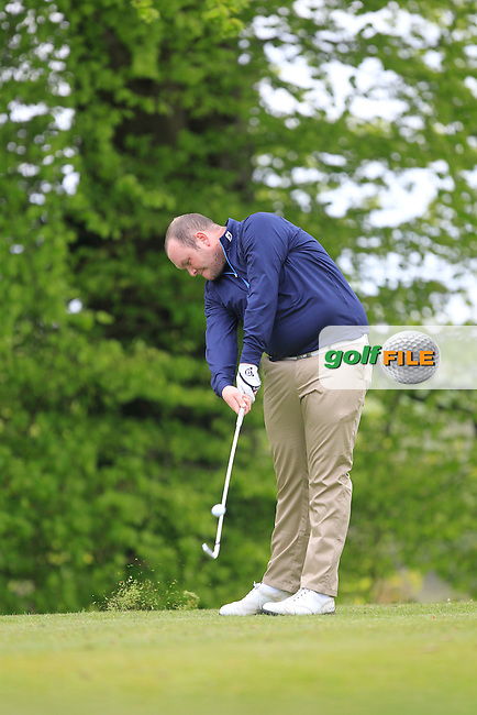 C. Geraghty (Laytown & Bettystown) on the 5th Tee during the Mullingar Scratch Trophy Day 1at Mullingar Golf Club Belvedere 18th May 2013.Picture: Thos Caffrey www.golffile.ie...