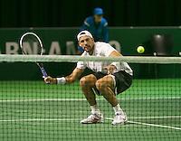 08-02-14, Netherlands,RotterdamAhoy, ABNAMROWTT,, Lukasz Kubot (POL)  <br /> Photo:Tennisimages/Henk Koster