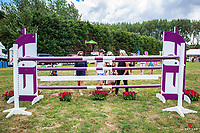 The course walk for the Bayleys Real Estate World Cup Jumping Final. 2018 NZL-Continental Cars Audi Waitemata World Cup Festival. Woodhill Sands. Helensville, Auckland. Copyright Photo: Libby Law Photography