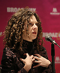 Ellie Heyman during a panel for BroadwayHD and the future of capturing stage performances for New Musicals at New York Hilton Midtown on January 13, 2019 in New York City.