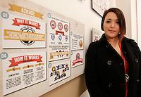 NAPOLI 21/03/2013 MUSEO PLART CERIMONIA DI PREMIAZIONE DELLA .VIII EDIZIONE DEL LUCKY STRIKE TALENTED DESIGNER AWARD ORGANIZZATO DALLA RAYMOND LOEWY  FOUNDATION.NELLA FOTO Carlotta Bandiera