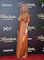 LOS ANGELES, CA. April 4, 2016. Actress Elisabeth Rohm at the world premiere of &quot;The Jungle Book&quot; at the El Capitan Theatre, Hollywood.<br /> Picture: Paul Smith / Featureflash