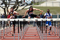 SAN ANTONIO, TX - MARCH 28, 2009: UTSA Relays Track & Field Meet - Day 2 at Jerry Comalander Stadium. (Photo by Jeff Huehn)