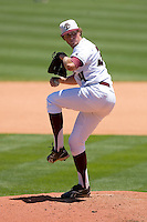Relief pitcher Kevin Moran #34 of the Boston College Eagles in action versus the Georgia Tech Yellow Jackets at Durham Bulls Athletic Park May 21, 2009 in Durham, North Carolina.  (Photo by Brian Westerholt / Four Seam Images)
