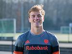 UTRECHT - Jorrit Croon, away  shirt speler Nederlands Hockey Team heren. COPYRIGHT KOEN SUYK