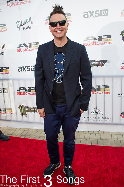 Mark Hoppus attends the 2014 AP Music Awards at the Rock And Roll Hall Of Fame and Museum at North Coast Harbor in Cleveland, Ohio.